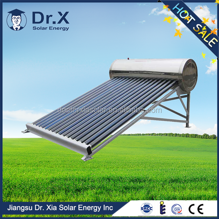 6 years guarantee 150L vacuum tube solar energy water heater