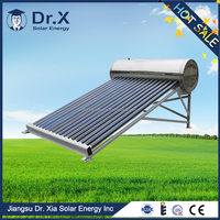 new designed green energy Compact Non-pressurized Solar water heaters for swimming pool,solar powered space heaters