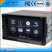 6.2 inch HD Touch Screen 2 DIN Car DVD GPS Windows CE6.0