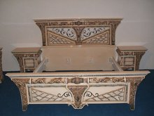 Deco Furniture, Inlays, Rose wood Bed