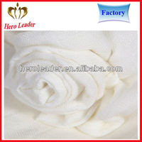 Super handfeel breathable thin muslin fabric