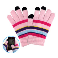 Touch Mobile Phone Screen Winter Stretch