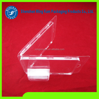 Custom Cheap Plastic Clear pet blister clamshell case packaging