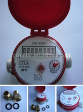 Super Dry Water Meter Single Jet for Hot Water