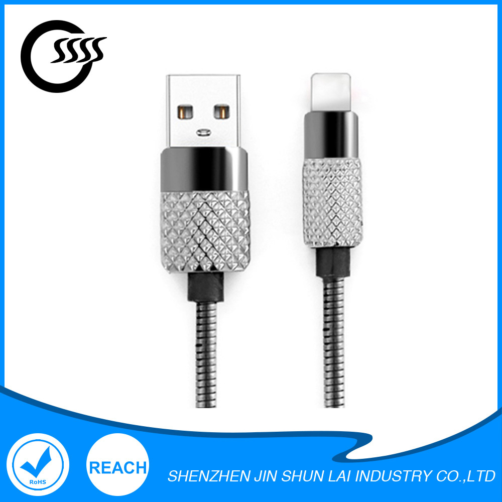 Mobile device charge line micro usb cable 20awg-28awg for iphone7