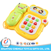 Cartoon Design Plastic Educational Baby Phone