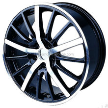 replica wheel rims Factory price Aluminum Alloy White Car Wheel Rims, OEM Design 3 Piece Forged Wheel