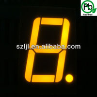 High brightness yellow 3 inch 1 digit 7 segment led display for taxi