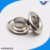 Metal stainless steel ring eyelet for hats / shoes / bags