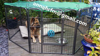 Large Heavy Duty 8x Panel Pet Pen Dog Play Pen Cage Crate