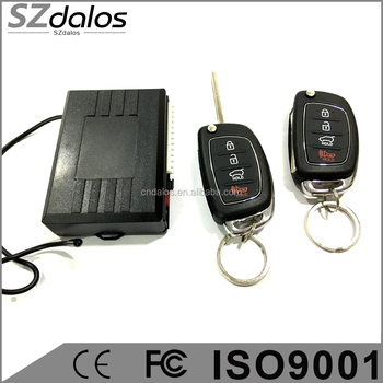 DC 12 V new car remotes keyless entry system with 315 Mhz and 433.92 Mhz