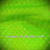 100% poly tricot mesh fabric with wicking treatment