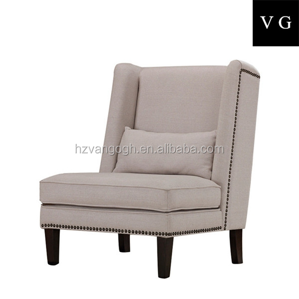Luxury living room furniture sets antique cane chair plastic chair with cushion