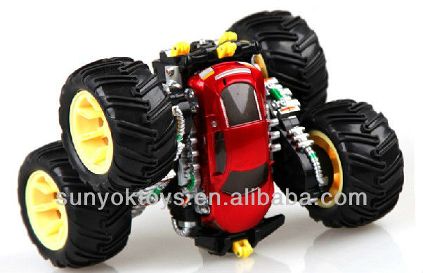 New Product ! 7CH Rc rolling tip lorry with light&music,rc stunt car ( FG )
