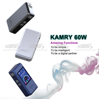 Most popular high voltage e-cigarette Kamry 60W e cigarette create healthy life