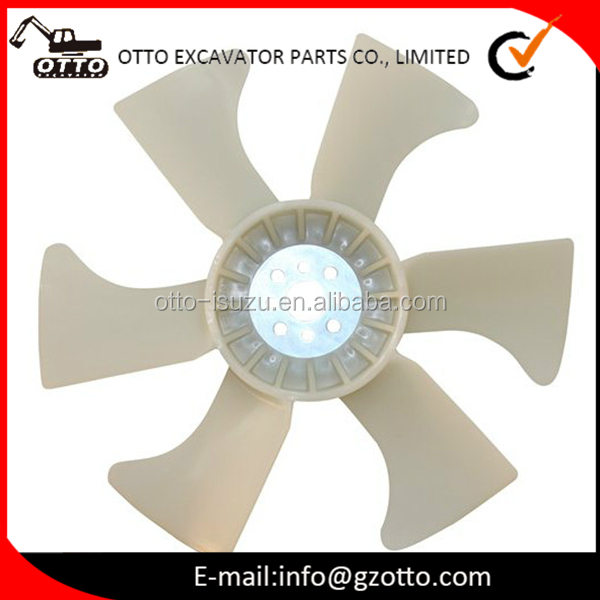 8944838940 8972876960 8973333870 8973282560 4JG1 Aftermarket Diesel Engine Cooling fan