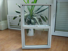China golden supplier portable glass house design upvc double hung windows