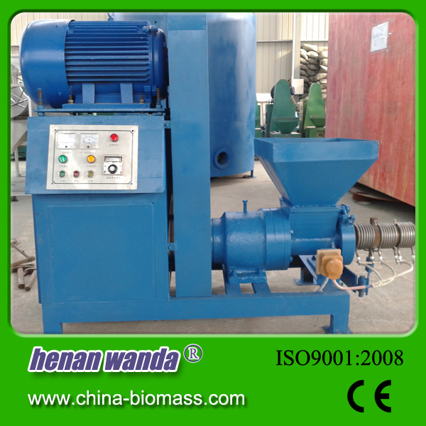 Rice husk charcoal briquette making machine price