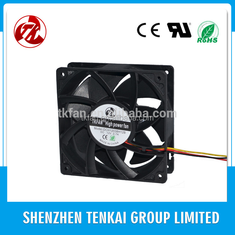 Factory direct sale Good quality 4500rpm high power fan DC 24V