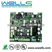 Immersion gold printed circuit board manufacturing and assembly, 4 layers, No MOQ limited, Competitive price!