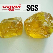 Natural resin Yellow rosin resin / Rosin Modified Phenolic Resin For Ink and Paint