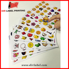 hot selling 2017 amazon Chinese factory direct wholesale custom label sticker sheet
