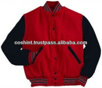 Varsity Jackets In Custom Designs, Fabrics, Colors, Sizes, Embroidery, Patches & Labels