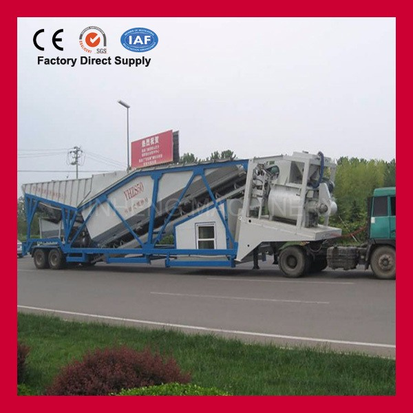 30 cubic meters portable concrete mixing statons