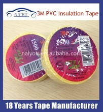 3M 1600 PVC Electrical Tape for Wrapping Cable/Wire or Car Harness