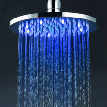 Luxury round hydro powered rain commercial shower unit