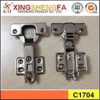 China hot selling furniture hinges inset 2 way hinge for kitchen cupboard