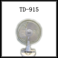 Top selling first promotional 14'' table fan wholesale with AC or battery charger