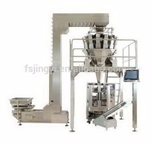Automatic weighing and packing for food processing machine