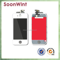 hot selling lcd touch screen digitizer, cell phone for iphone 4s lcd factory price