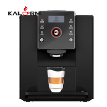 Full One Touch Screen Elegant Italian Espresso Coffee Machine with Dual Thermal Block