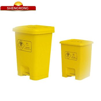Standard Cover Plastic Garbage Cans Size