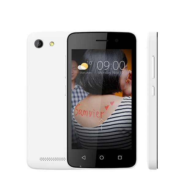 4.0inch Dual Core Shenzhen Touch Screen Mobile Android Phone With Camera