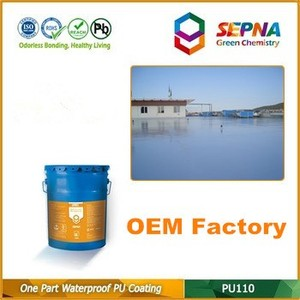 one component pu110 used to asphalt shingle roof coating and sealing