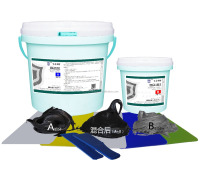 high temperature anti chemical wear resistant epoxy ceramic adhesives