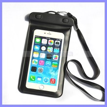 "5''-5.8"" PVC Waterproof bag Underwater Pouch Case For iphone 6 4.7"" For Samsung galaxy note 4 3 2 S6 S5 S4 S3"