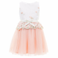 2017 Fashion Korean Children Clothing Formal Dress Patterns for Girls Summer Dress
