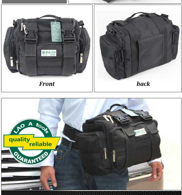 15 inch high quality oxford fabric electrician tool bag with shoulder strap shoulder bag