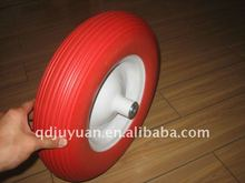 High quality 4.80/4.00-8 PU FOAM FLAT FREE PUNCTURE PROOF TIRE FOR WHEELBARROW