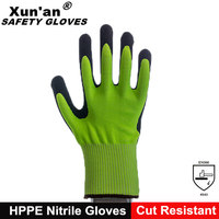 Fish Processing Hand Arm Protection Cut Resistant Long Sleeve Gloves
