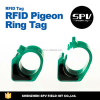 HItagS256 RFID Pigeon Rings Compatible with Benzing and Mega System