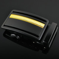 new arrival simple belt buckle automatic buckle for men