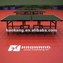 Table-tennis court sports flooring