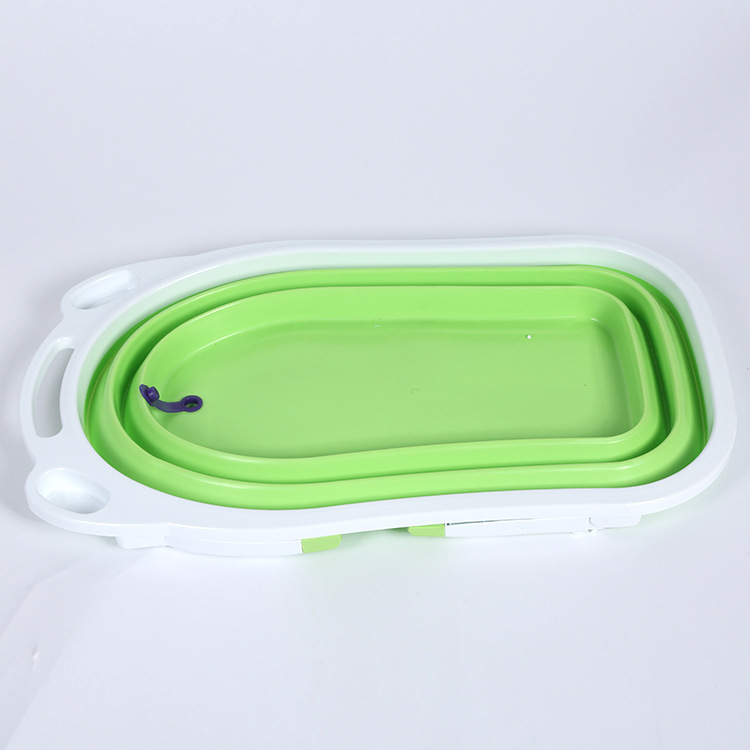 2016 New Pure Colour Hot Selling Foldable Portable Dog Bathtubs