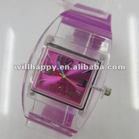 Noval silicone women lady wrist watch(SW-291)