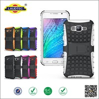 New Arrival Mobile Phone Case Shockproof Case 2 in 1 Armor Case Cover For Samsung J7----laudtec